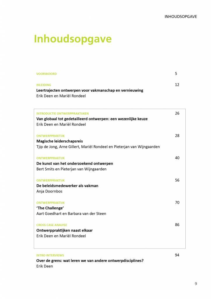 Het Ontwerpboek, leertrajecten ontwerpen voor vakmanschap en vernieuwing