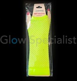 UV / BLACKLIGHT NEON GLOVES - FINGERLESS - 25 CM