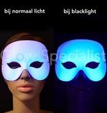 UV/BLACKLIGHT EYE MASK - COCKTAIL - WHITE