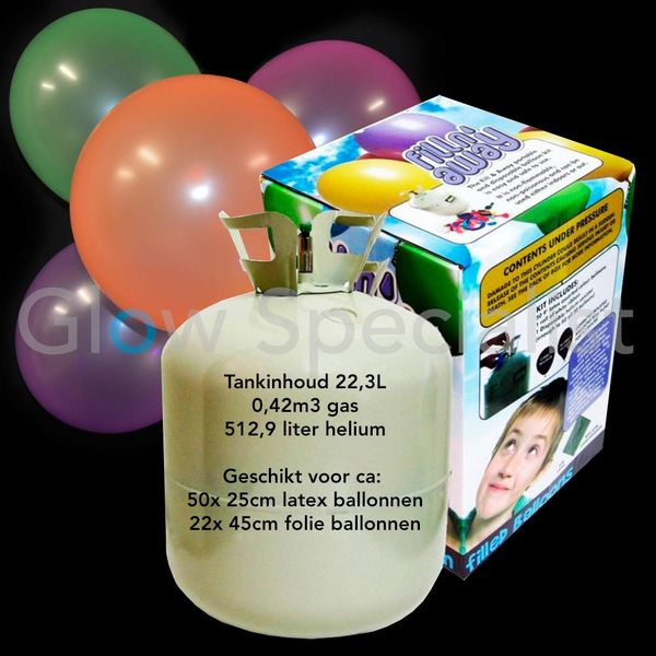 HELIUM TANK FOR 50 BALLOONS