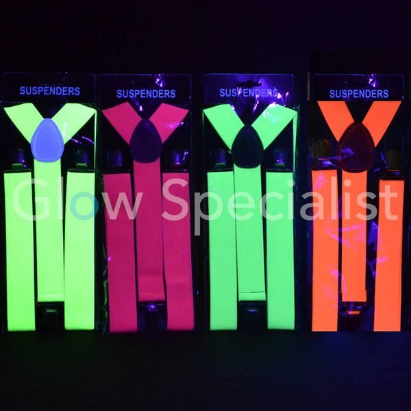 Blacklight / Neon Suspenders