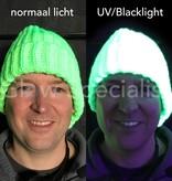 UV / BLACKLIGHT GEBREIDE NEON MUTS