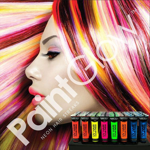 PAINTGLOW UV HAIR COLOR STREAKS