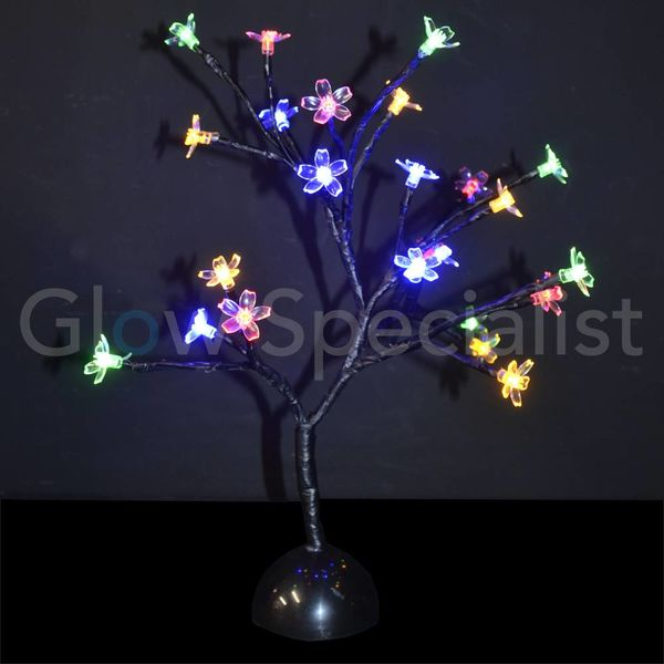 LED BLOESEMBOOM - 40 CM - MULTICOLOR - 24 LED