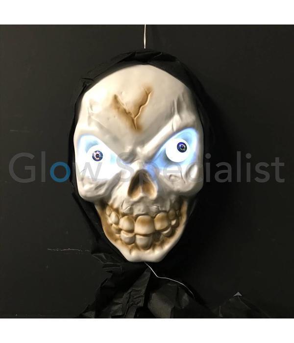 Geluiden Halloween.Halloween Decoratiemasker Xl Met Licht En Geluid