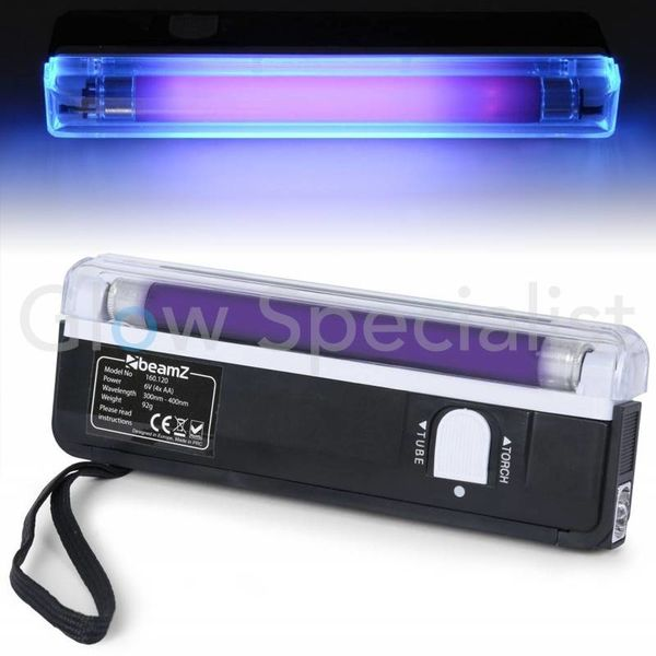 UV Flashlight TL - 15cm with Flashlight