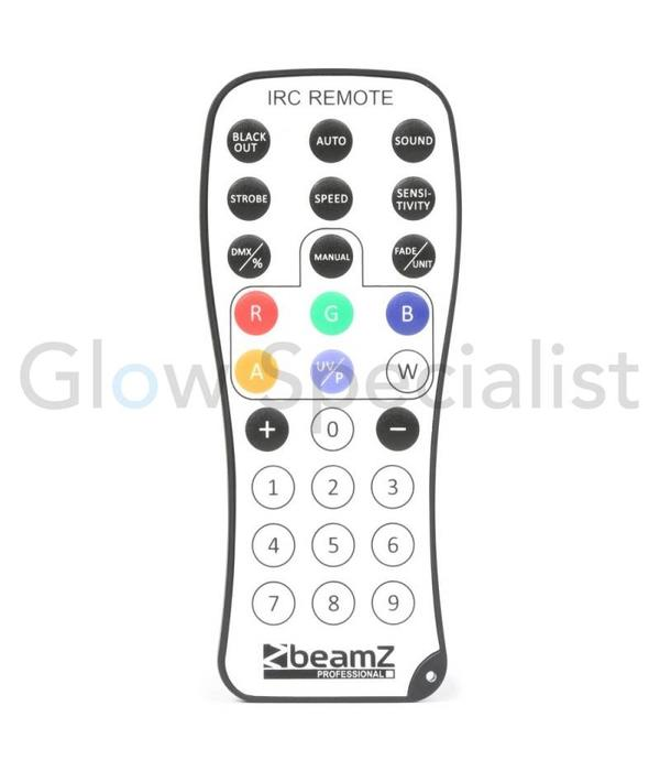 BeamZ SHOWBAR 2x PAR  6X 4in1 - 2x BUTTERFLY - LASER R/G - DMX