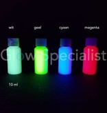 - Glow Specialist UV PRINTER INK - SET OF 4 COLORS - INVISIBLE