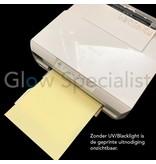 - Glow Specialist UV PRINTER INKT - CYAAN LIGHT - ONZICHTBAAR