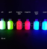 - Glow Specialist UV PRINTER INK - SET OF 6 COLORS - INVISIBLE