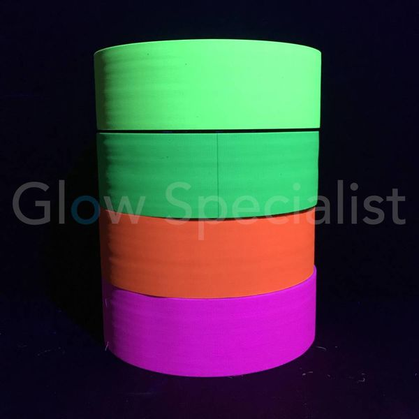 UV / BLACKLIGHT NEON TAPE - 50 MM x 50 M