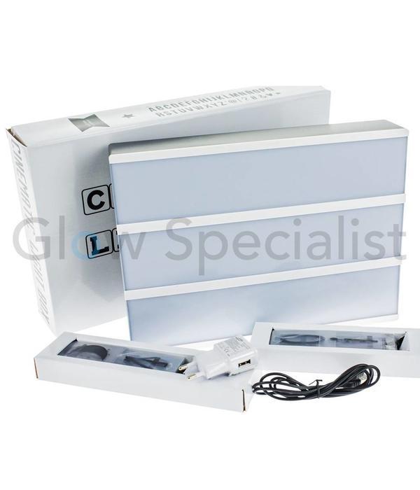 Oplaadbare Cinema Lightbox met Led Verlichting