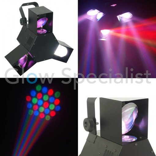 BeamZ TRIPLE FLEX CENTRE PRO LED