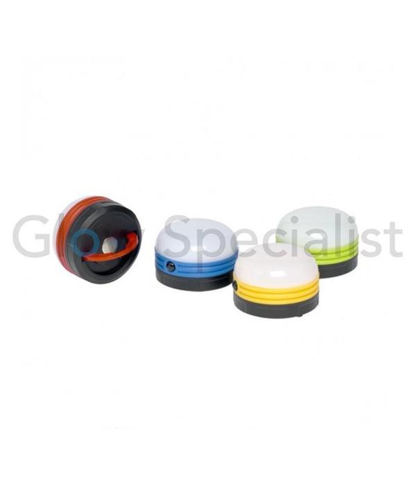 Dunlop LED KAMPEERLAMP - 5 LED - MET MAGNEET EN OPHANGHAAK