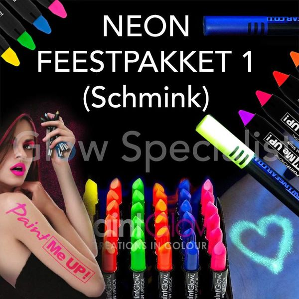 Neon party package 1 (schmink)
