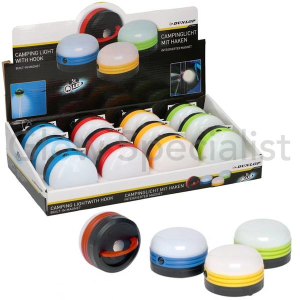 LED CAMPING LIGHT- 5 LED - WITH MAGNET AND HOOK