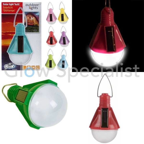 SOLAR LED GLOEI LAMP