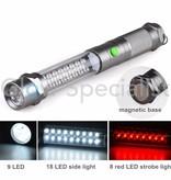 Grundig LED 3-IN-1 MAGNETIC WORK LAMP / WARNING TORCH