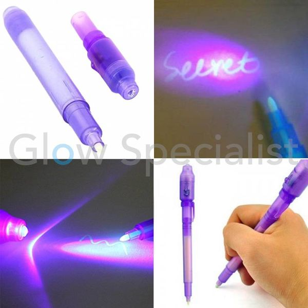 UV PEN WITH INVISIBLE INK
