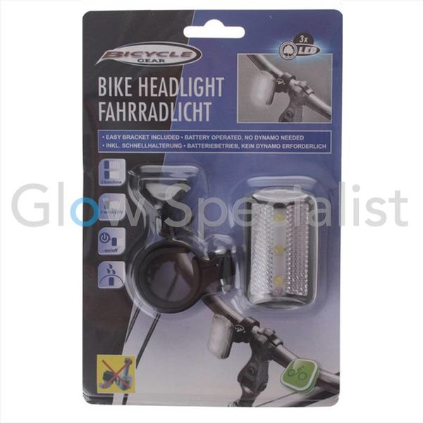 LED FIETSKOPLAMP - 3 LED