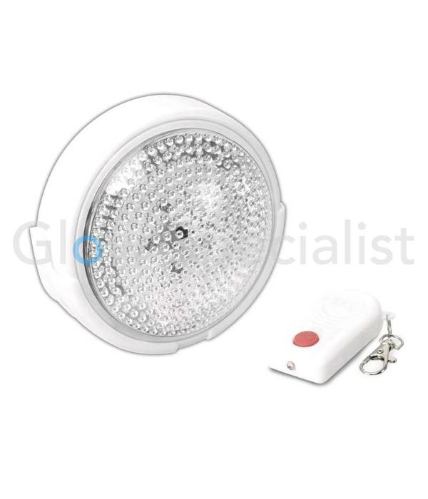 LED NIGHTLIGHT WITH PUSH SWITCH AND REMOTE CONTROL - 5 LED