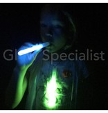 GLOW STICK WITH  WHISTLE - 16 CM