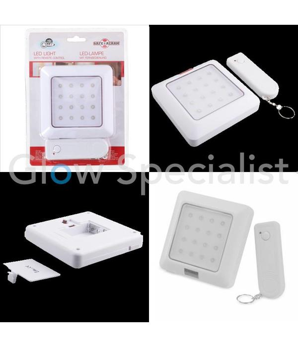 Led Night Light With Remote Control 16 Led Glow Specialist