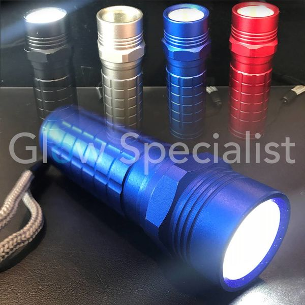 FLASHLIGHT WITH POWER LED