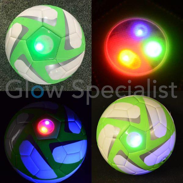 UV SOCCER BALL WITH LED LIGHT