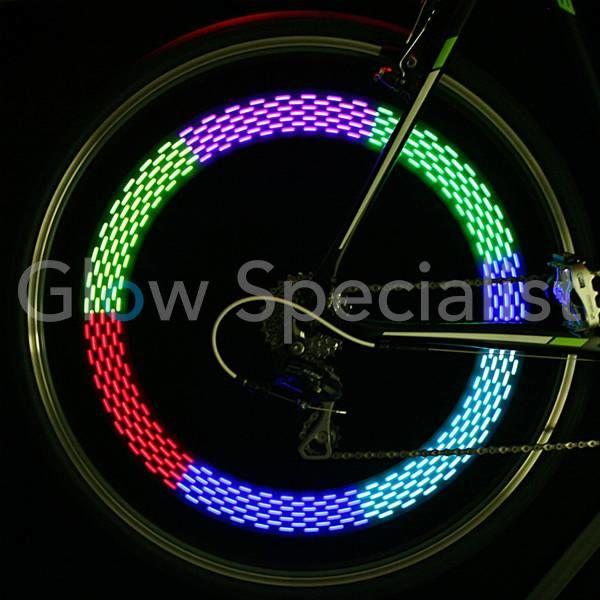 LED FIETSSPAAKVERLICHTING - RAINBOW