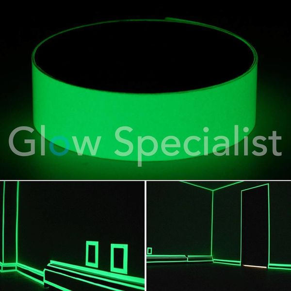 GLOW IN THE DARK ANTISLIP TAPE - 50MM x 10M