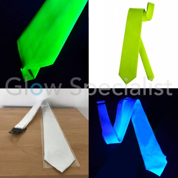 UV / BLACKLIGHT NEON NECKTIE
