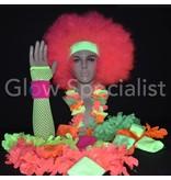 - Glow Specialist UV NEON HEADBAND + 2 WRIST BANDS - SET OF 3 PCS
