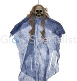 Europalms HALLOWEEN DECORATION GHOST - BLUE - 60CM