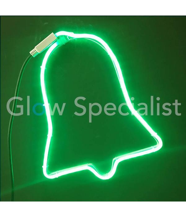 LED DECORATIVE LIGHTING - 60LED - GREEN - CHRISTMAS BELL