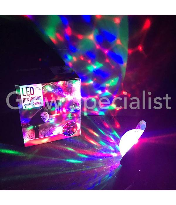 LED PROJECTOR - CALEIDOSCOOP - ROTEREND EFFECT