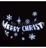 LED PROJECTOR - MERRY CHRISTMAS - ROTEREND
