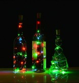 BOTTLE STOPPER WITH 8 LED MULTICOLOR
