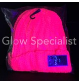 UV / BLACKLIGHT KNIT NEON HAT