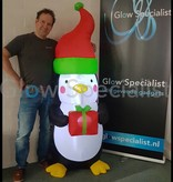 INFLATABLE CHRISTMAS PINGUIN WITH LED LIGHT -180 CM
