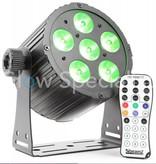BeamZ BAC406 ALUMINIUM LED SPOT 6x18W 6-IN-1 LED