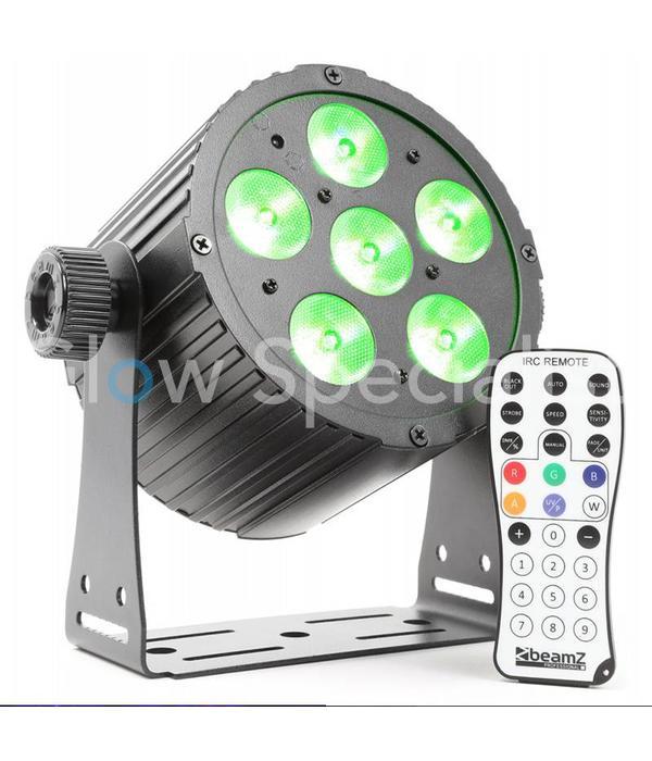 BeamZ BAC406 ALUMINUM LED SPOT 6x18W 6-IN-1 LED