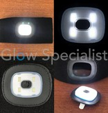 BLACK HEADBAND WITH LED