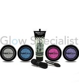 - PaintGlow PAINTGLOW HOLOGRAPHIC GLITTER GIFTSET FOR FACE, BODY & NAILS