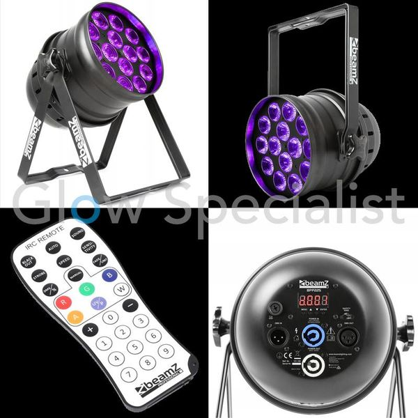 BEAMZ UV  PROFESSIONAL BPP230 LED PAR 64 14X15W