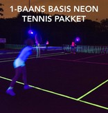 - Glow Specialist BASIC NEON TENNIS PACKAGE - 1 COURT