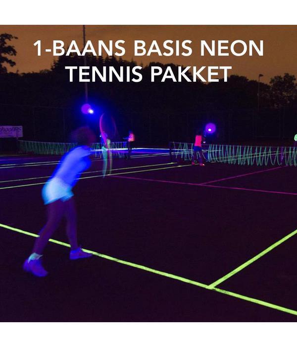 ea164b78002 BASIC NEON TENNIS PACKAGE - 1 COURT - Glow Specialist