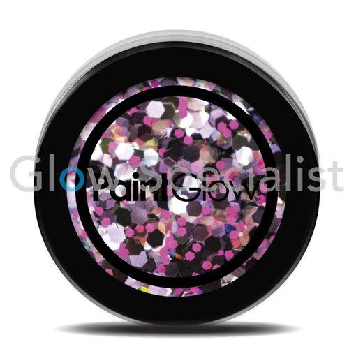 - PaintGlow PAINTGLOW UV CHUNKY HOLOGRAPHIC GLITTER - PURPLE HAZE