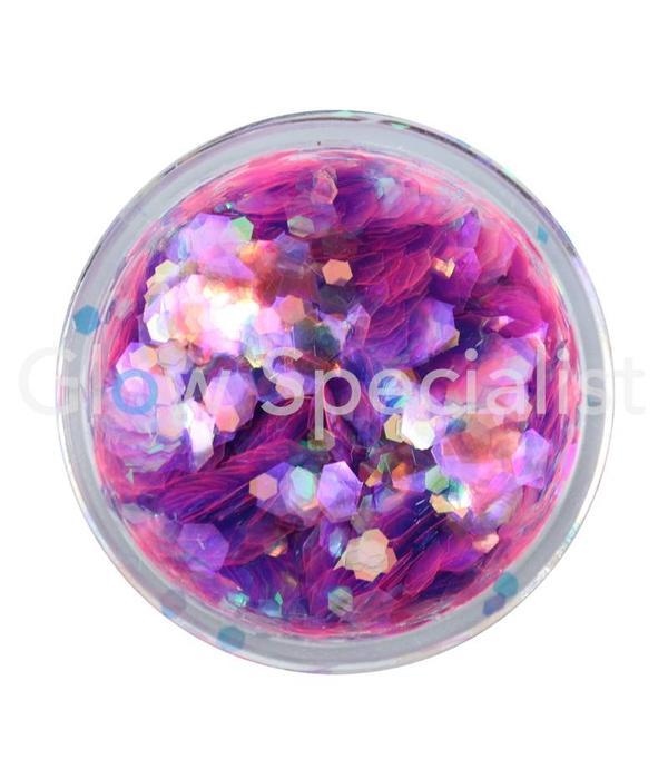 - PaintGlow PAINTGLOW UV CHUNKY HOLOGRAPHIC GLITTER - DUSK TILL DAWN