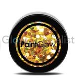 - PaintGlow PAINTGLOW UV CHUNKY HOLOGRAPHIC GLITTER - KARAT GOLD